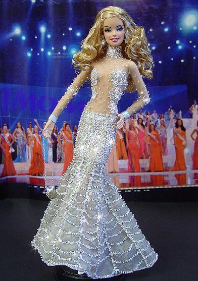 OOAK Barbie NiniMomo's Miss Maryland 2009