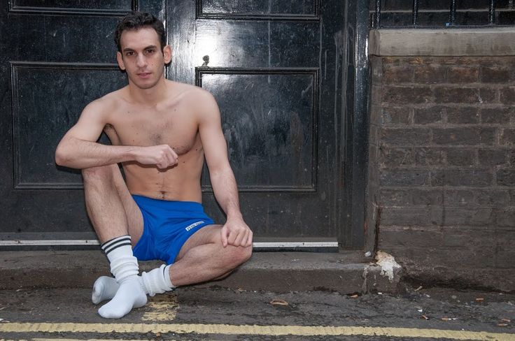 Johny wearing Blue Club Soho Shorts http://www.clubsoho.co.uk/#!product/prd1/3676246401/blue-shorts