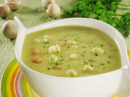 Овощное пюре суп из цветной капусты для детей до года