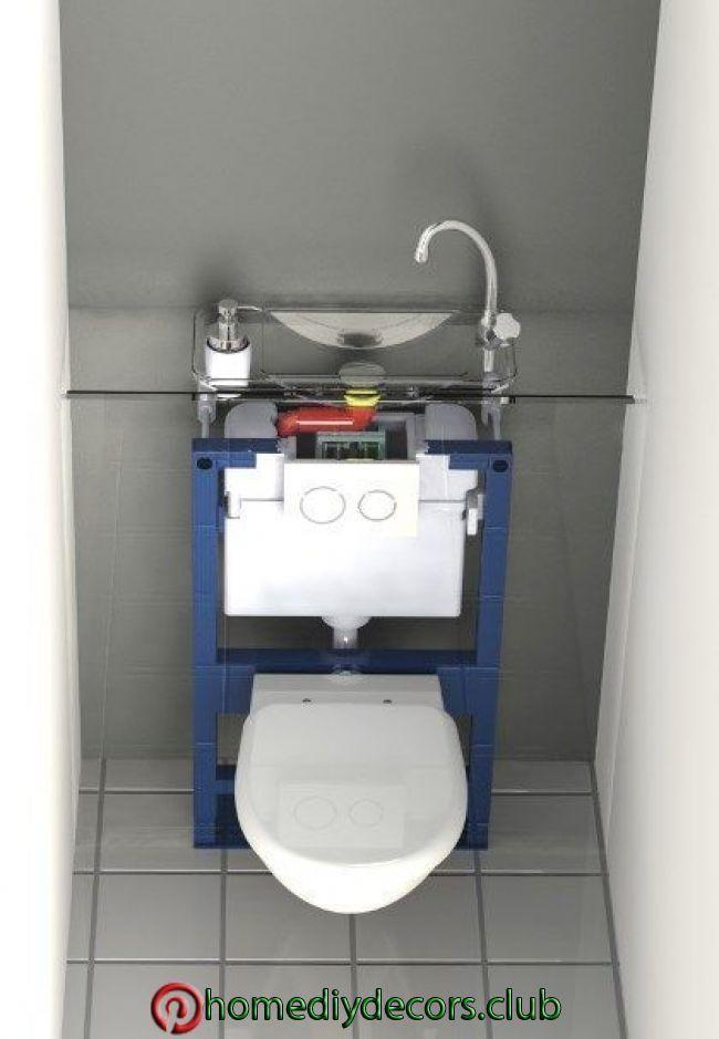 Gaste Wc Gaste Wc Small Toilet Room Luxury Bathroom Tiles Toilet