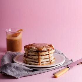 Gluten-free apple pancakes