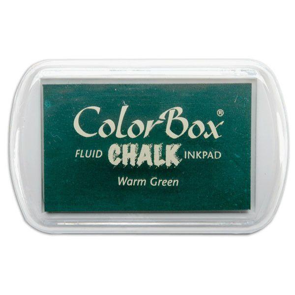 ColorBox Fluid Chalk Ink Pad - Warm Green