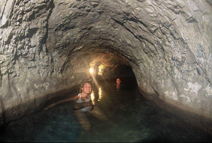 Grotta naturale #bagnivecchi #terme #Bormio #Valtellina  Puro #relax, vieni a scoprire i benefici di queste acque termali meravigliose.