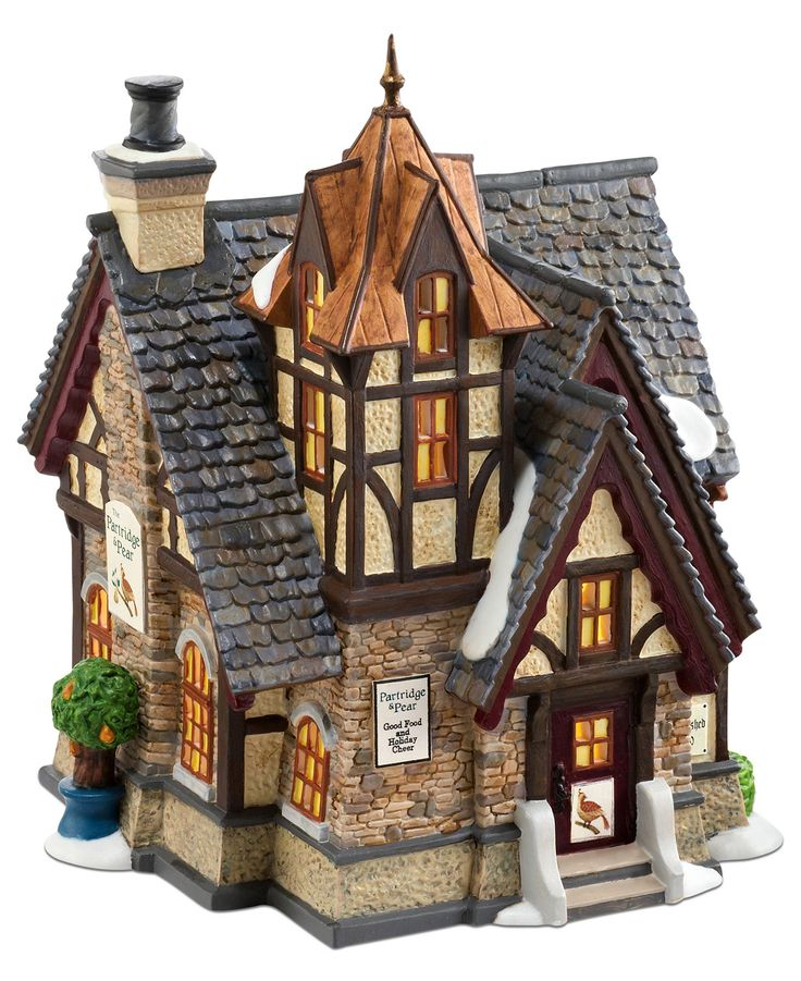 Department 56 Dickens' Village The Partridge & Pear Collectible Figurine - Department 56 - For The Home - Macy's