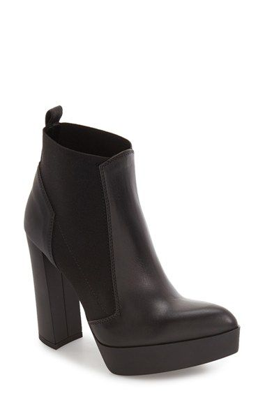Free shipping and returns on Tiffi Platform Chelsea Boot (Women) at Nordstrom.com. A classic Chelsea silhouette gets a sophisticated update in an Italian-made bootie set on a lofty structural heel and platform.