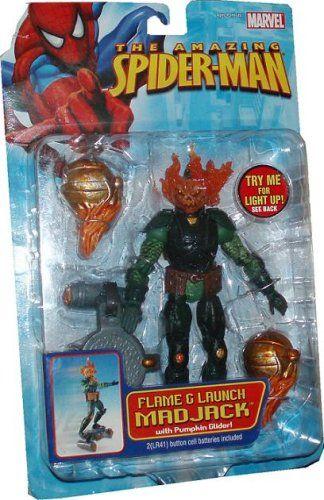 The Amazing SpiderMan Action Figure Flame Launch Mad Jack Spider-Man http://www.amazon.com/dp/B000I3ZJH8/ref=cm_sw_r_pi_dp_1zMcub0GEAXZJ