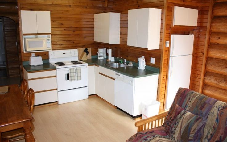 Cabin 23 | Crystal Cove Beach Resort This 2 story cabin is great for larger families.  It has 2 bedrooms plus a den and features an ocean view from the second floor and a private hot tub on the upper deck.