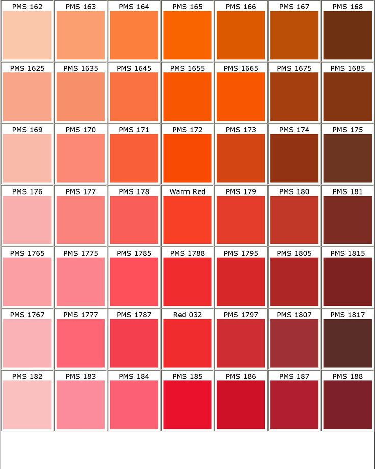 Pms Color Chart Color Chart Best Colours Images On  Colors
