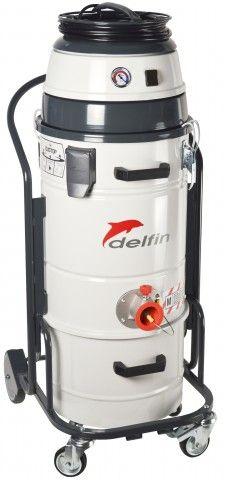 202 DS AIR druckluftbetriebener Industriesauger bei Delfin Industriesauger. Leistungsstarker druckluftbetriebener Industriesauger für das Ansaugen von Feinstaub, Festkörper und Stäube. Funktionell, handlich und leicht.