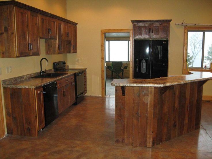 Reclaimed Wood Kitchen Island Ideas ~ Http://modtopiastudio.com/ideas