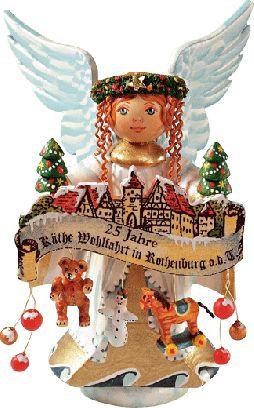 "Sammlerfiguren Engel ""25 Jahre Käthe Wohlfahrt in Rothenburg o.d.T."""