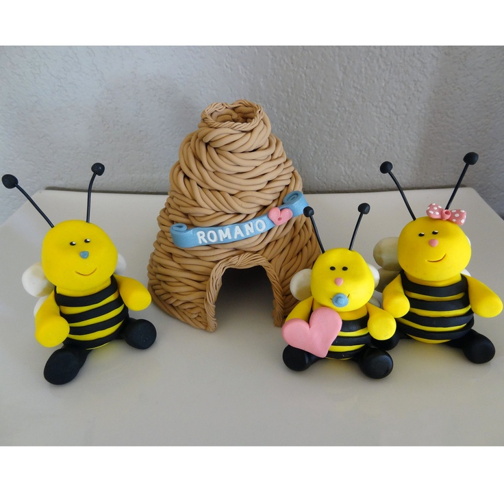 Custom Bumble Bee Cake Topper For Birthday Or Baby By Carlyace