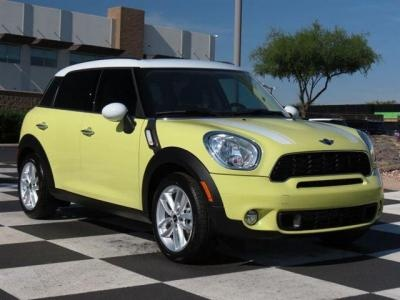 This Yellow Mini Cooper S Countryman Is Sure To Catch Some Attention