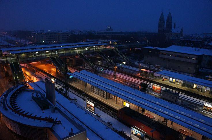 Gare de Fribourg (Allemagne), 20/01/2013