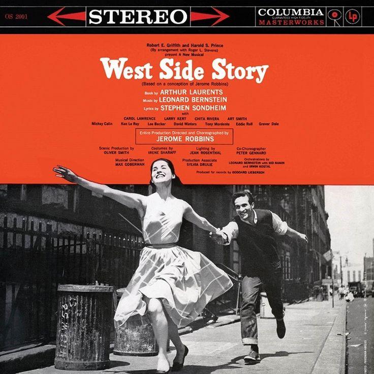 West Side Story: Original Broadway Cast Recording on 180g 2LP