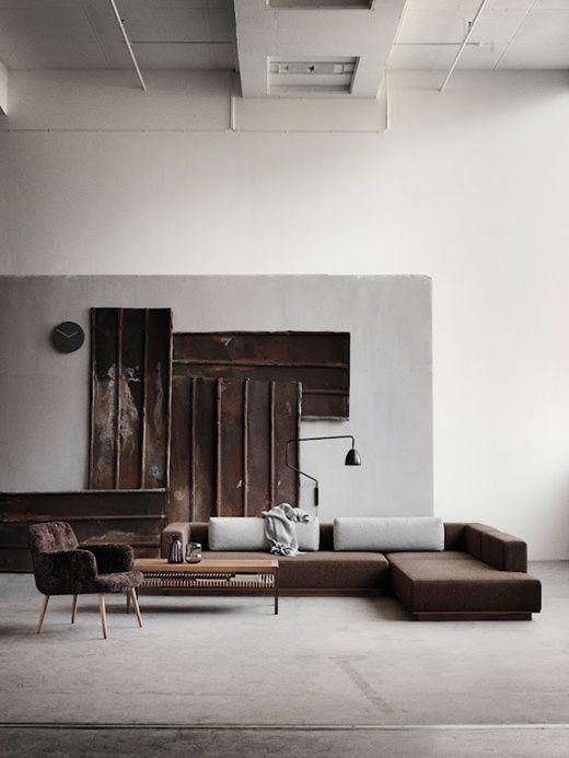 Life on SundaysWall Art, Spaces, Wareh Living, Living Room Ideas, Livingroom, Interiors Design, Loft, Interiordesign, Girls Style