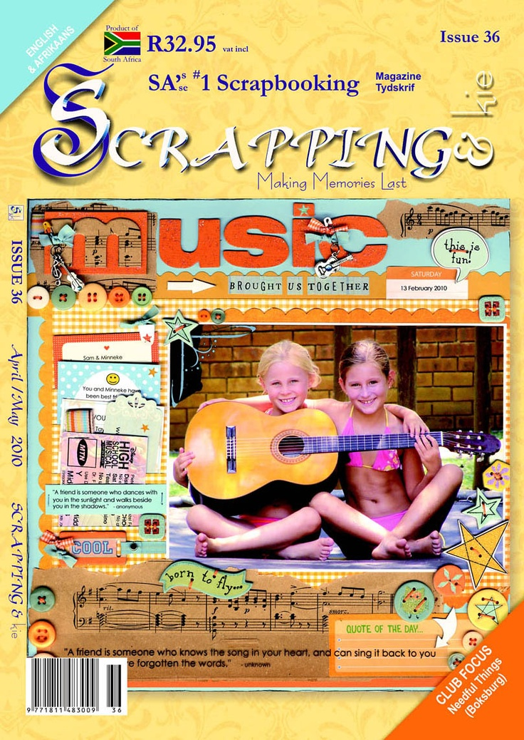 Issue 36 - www.facebook.com/scrappingmagazine