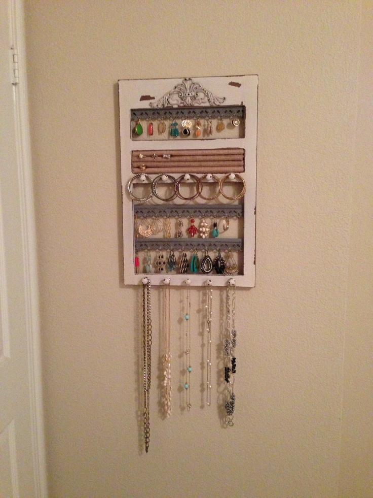 Jewelry Organizer From Hobby Lobby Organizing