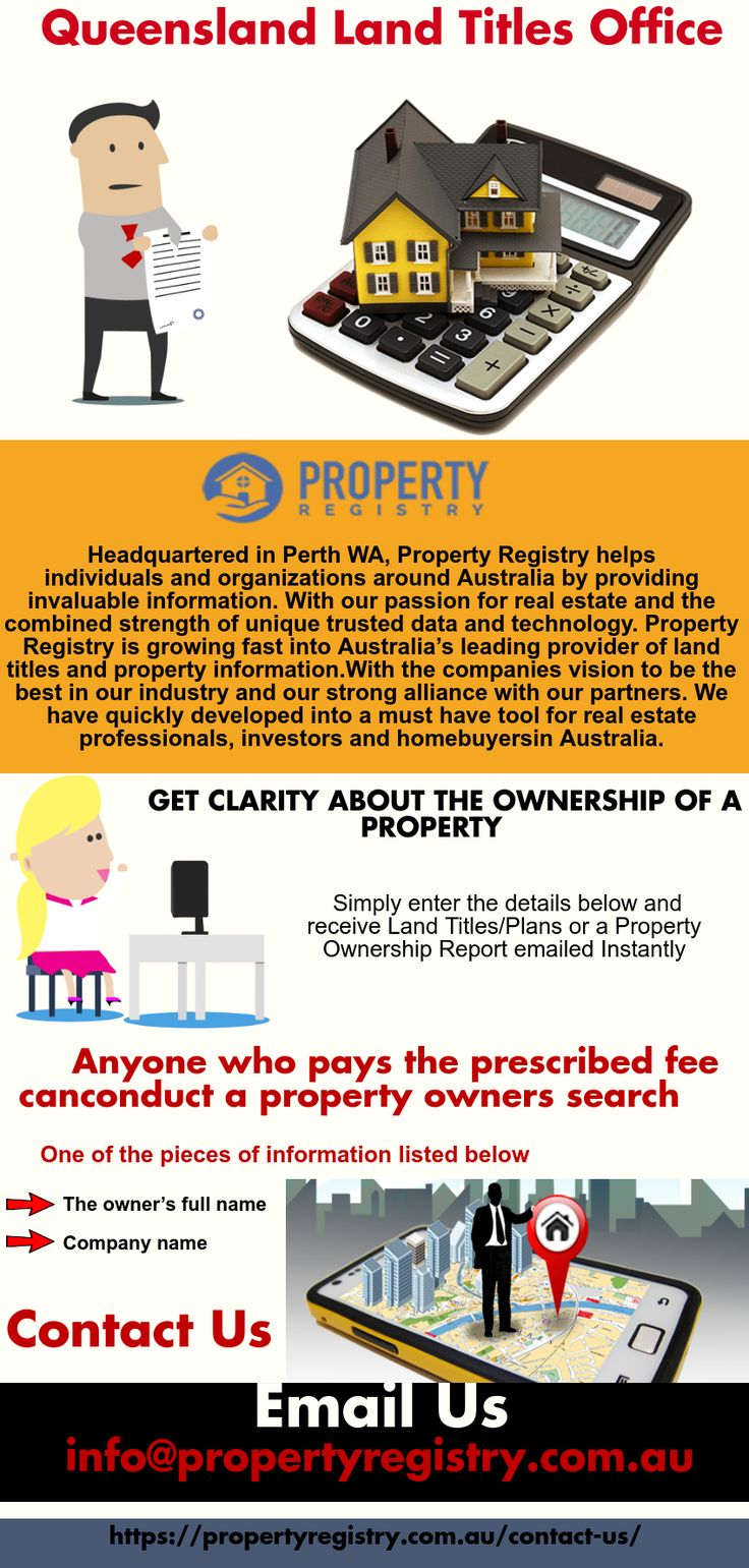 We know you have many questions about the search for property owner, property search QLD and land titles office QLD. Our FAQ can help answer any questions. The Registrar records property ownership changes, mortgages, property transactions and new subdivisions and protects the security of property ownership through the State Government guarantee to title. Visit us for more info! https://propertyregistry.com.au/contact-us/