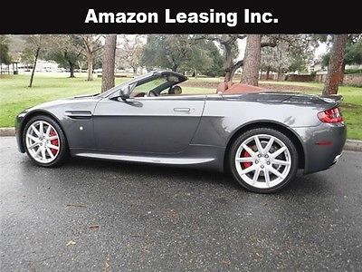 2014 Aston Martin Vantage 6 Speed Convertible Business Lease, Closed end, simple interest,5 credit tiers no prepayment penalty
