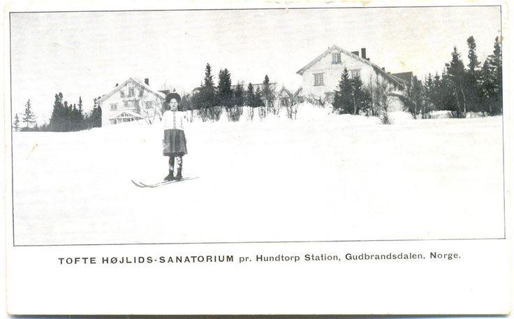 Tofte Höjlids Sanatorium Norge brukt 1917