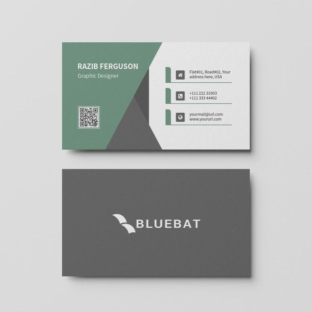 Top View Of Business Card Template Business Card Mock Up Business Card Template Business Cards Creative Templates
