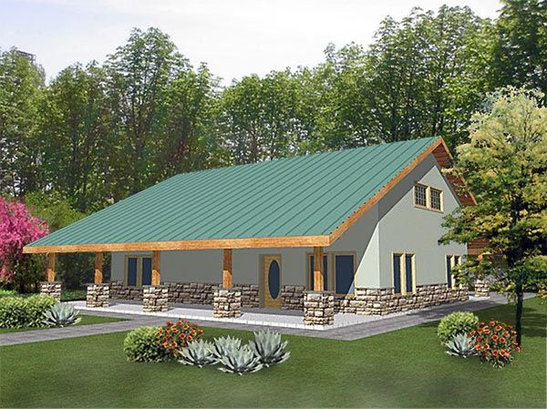 Two story barn home plans