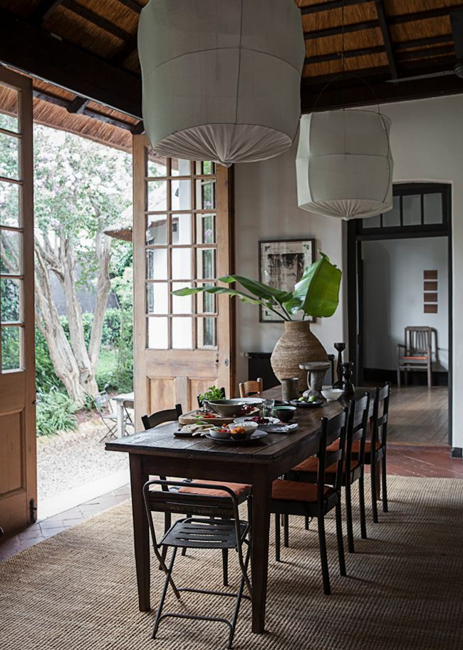 Let's visit South Africa | 79 Ideas- love those wooden windows/ doors!