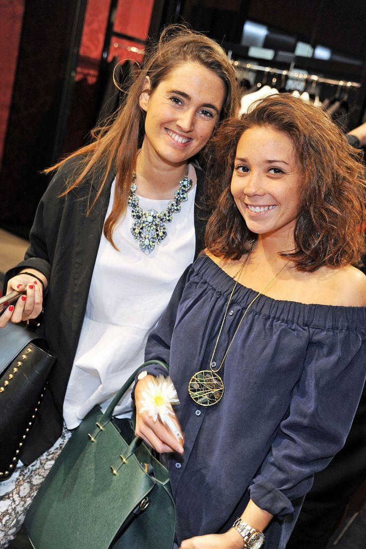 Pilar Ponce y Francisca Soublette
