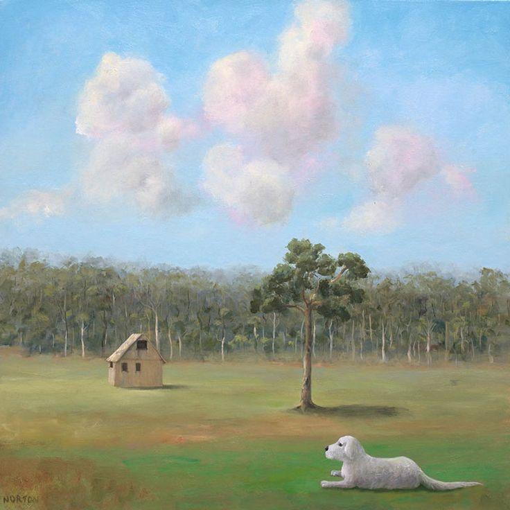 Helen Norton - Dog With Hut - Dog - Watercolour5