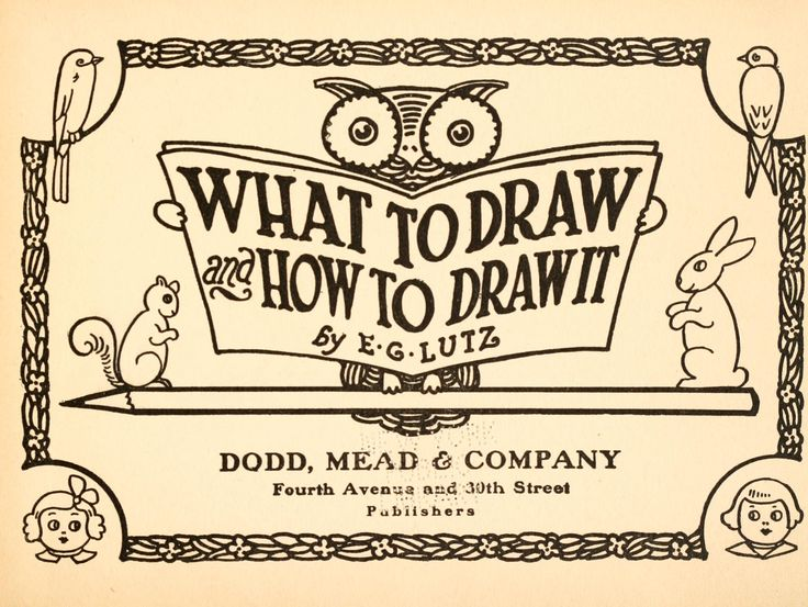 """What to draw, how to draw it"" online drawing book shows step-by-step drawings. What a great site!"