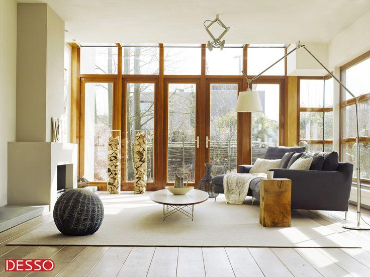 Comfort en luxe met een Desso tapijt op maat.   Te verkrijgen bij Tapiroe!