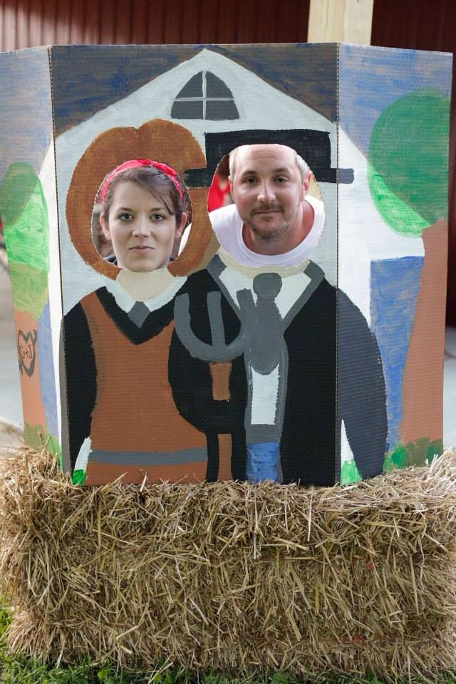 American Gothic Photo Cut Out Prop | My Crafties ...