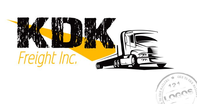 Logo designed for a new Freight Company.