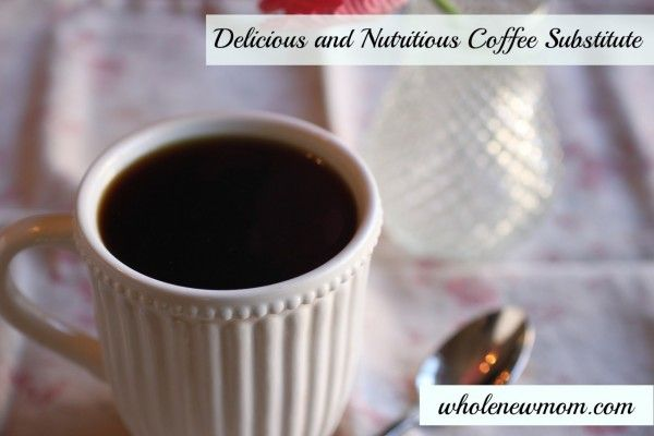 This rich and delicious coffee substitute is a great way to get off coffee--it's great for your liver. Great for a nighttime treat too!