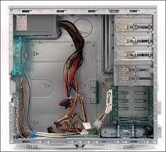 ¨Prázdná skříň PC
