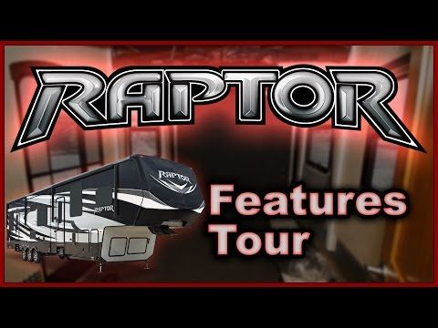 New 2016 Keystone Raptor Toy Hauler RV Features Tour Video by Lakeshore RV - YouTube