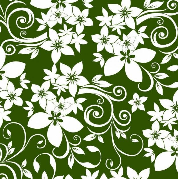 Картинка узоры зеленый