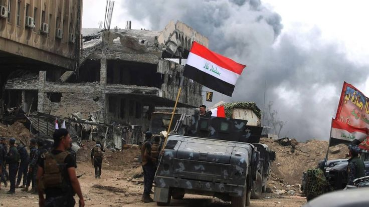 """Iraq PM announces final victory to retake Mosul from ISIL  Iraq's Prime Minister Haider al-Abadi announced the """"liberation"""" of Mosul city on Sunday, bringing the ISIL's reign over this city to an end, Reuters news agency reported citing his office.  """"The commander in chief of the armed forces (Prime Minister) Haider al-Abadi arrived in the liberated city of Mosul and congratulated the heroic fighters and the Iraqi people for the great victory,"""" said a statement from his office"""