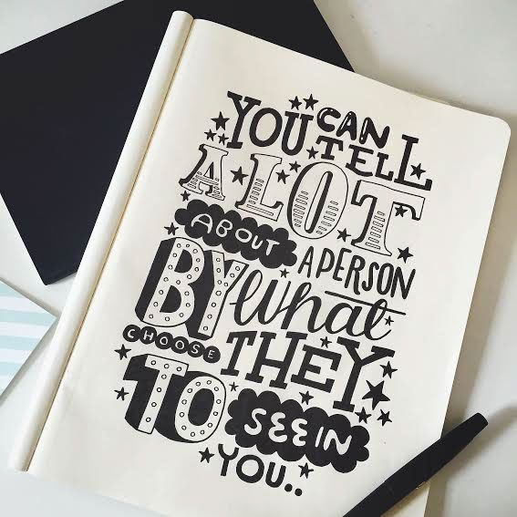 """""""You can tell a lot about a person by what they choose to see in you.."""" - Winnie The Pooh - Typography Quotes #imnotabox"""