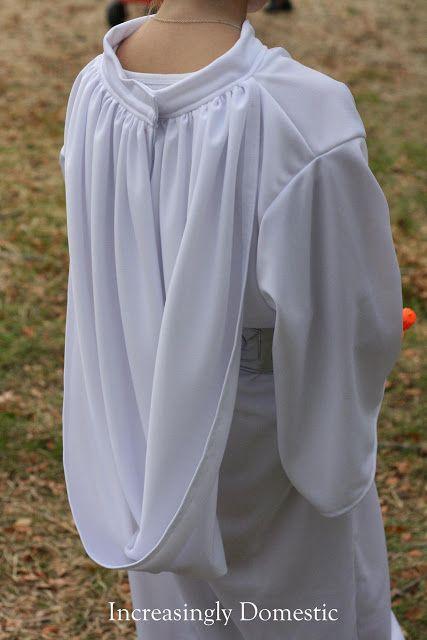 Increasingly Domestic: {Handmade} Princess Leia Costume
