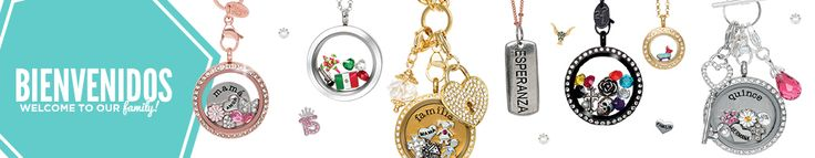 Bienvenidos | OrigamiOwl These are some my favorite charms.  I really like the large black crystal face locket, with 5 colored crystals, sugar skull, rose, and antique cross.