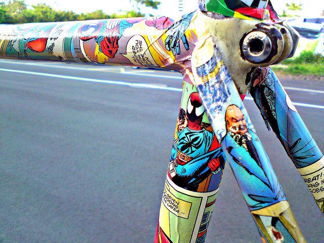 #Sports #ComicArt #Design - Comic Bike