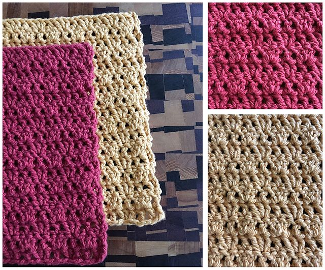 Ravelry: Pretty Eyelets Dishcloth pattern by Luna Lewis