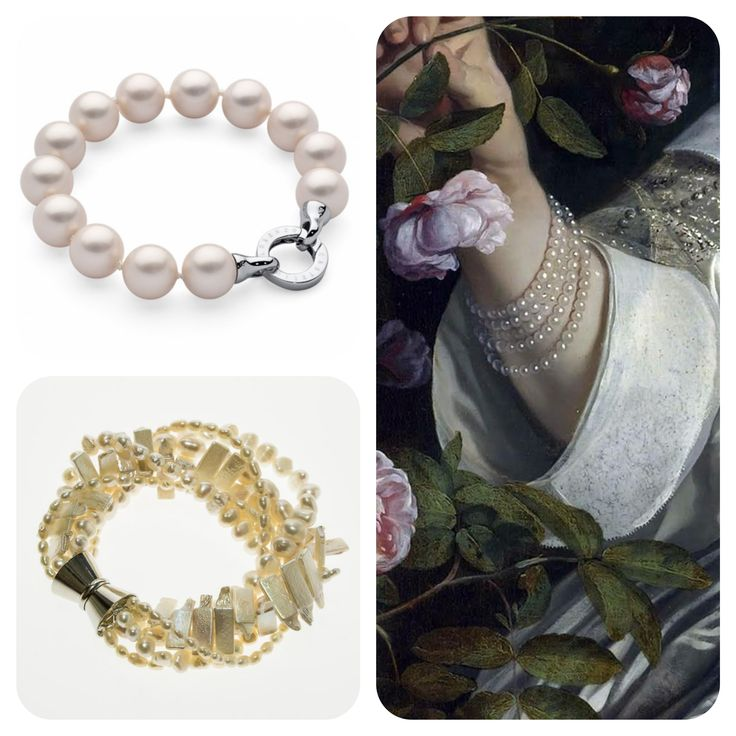 Pearls - make impression from years, look extraordinary on an owner and  are perfect propose for a gift. #pearls #jewellery #bracelet #aesthetic #design #quality #unusual #original #present #margot #margotgallery #poznańcity