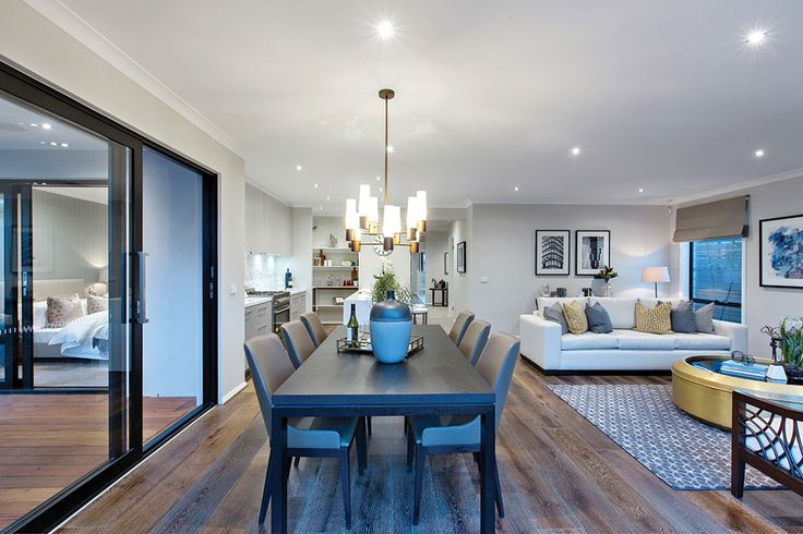 The Bermuda display home dining room in Manhattan World of Style.