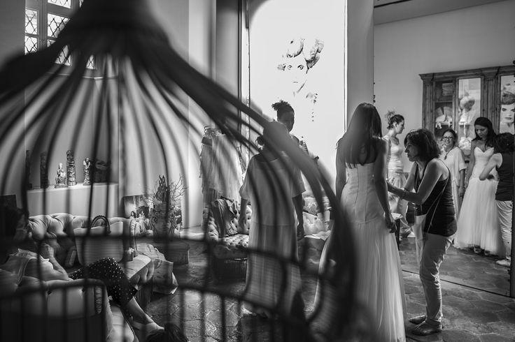 Inigo e Cinzia, Ultimate test of the wedding dress