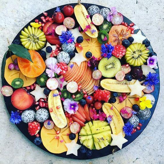 #meyvesalatası #sunumu #meyve #salata #vegan