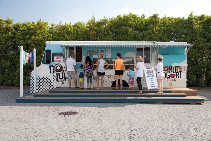 Charlie's Donuts at Alys Beach Florida food dining