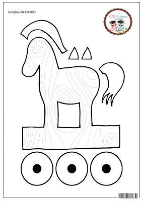 SOS PROFESSOR-ATIVIDADES: O cavalo de Tróia